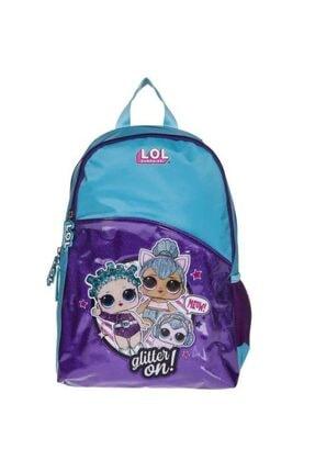 LOL L.o.l Turkuaz Glitter On Okul Çantası Llçan20459