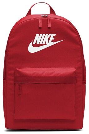 Nike Unisex Kırmızı Heritage 2.0 Okul Sırt Çantası Ba5879-658