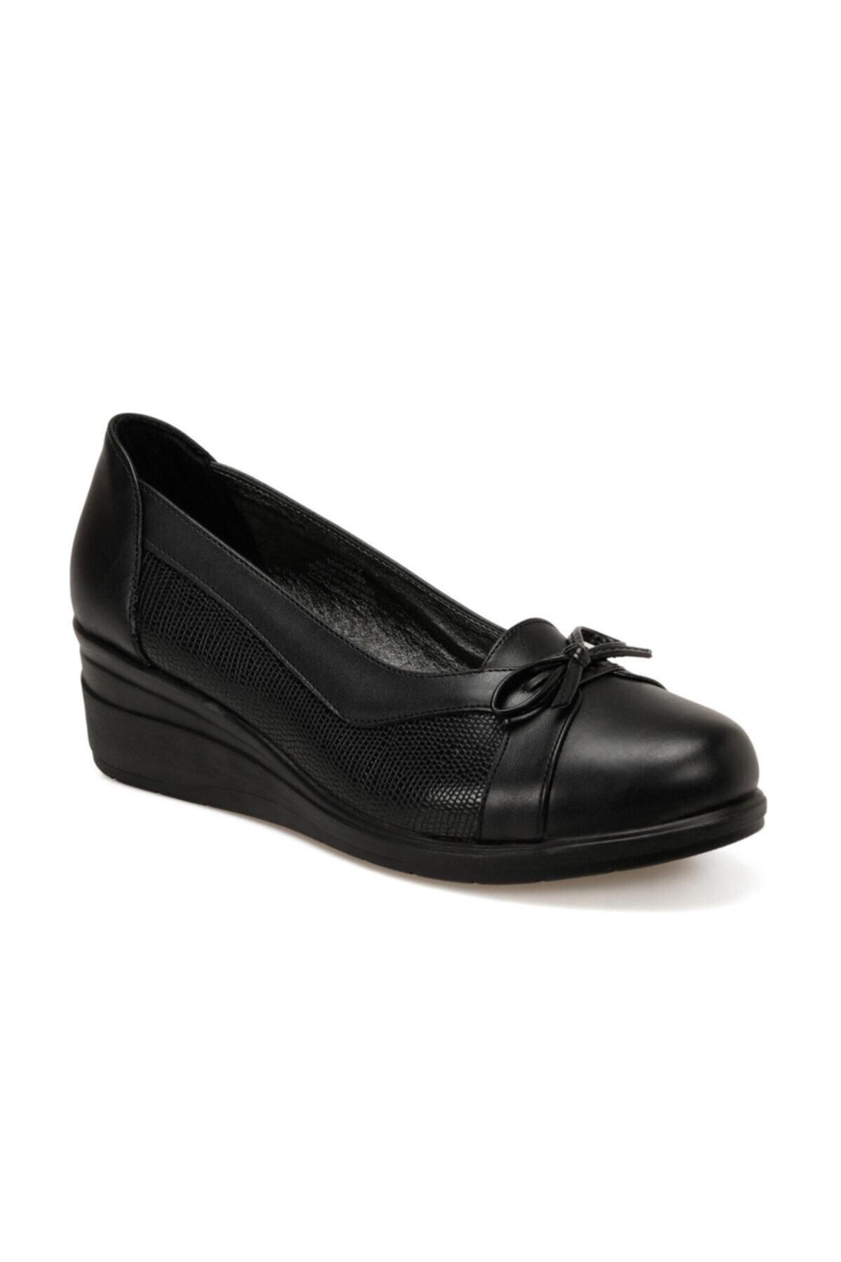 Polaris 161387.Z Siyah Kadın Comfort Ayakkabı 100548485 1