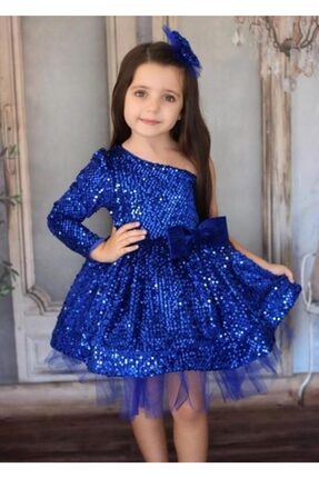 Riccotarz Kız Çocuk Saks Princess Dress Abiye Elbise