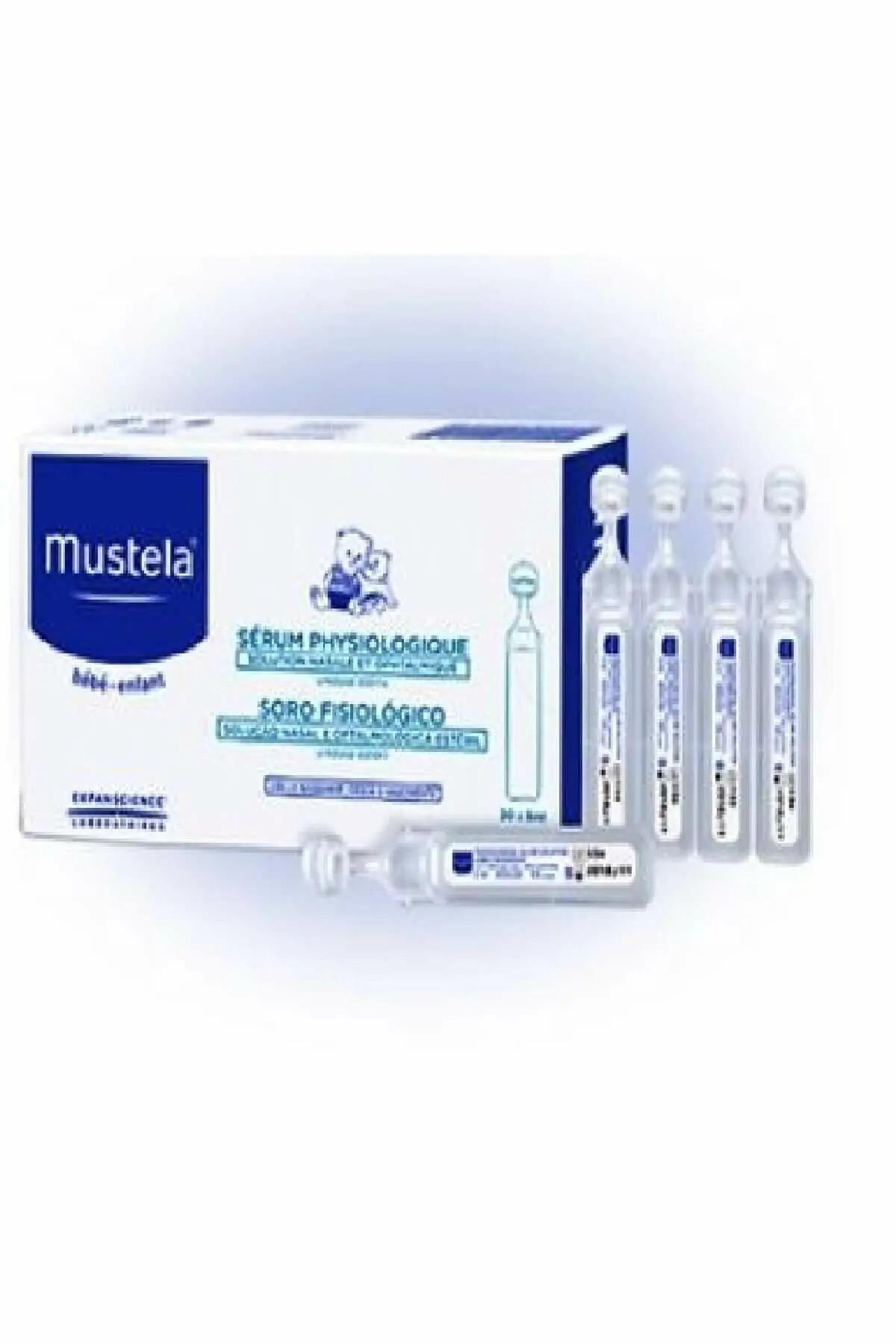 Mustela Physiological Saline 5 Ml 20'li Flakon Serum Fizyolojik . 1