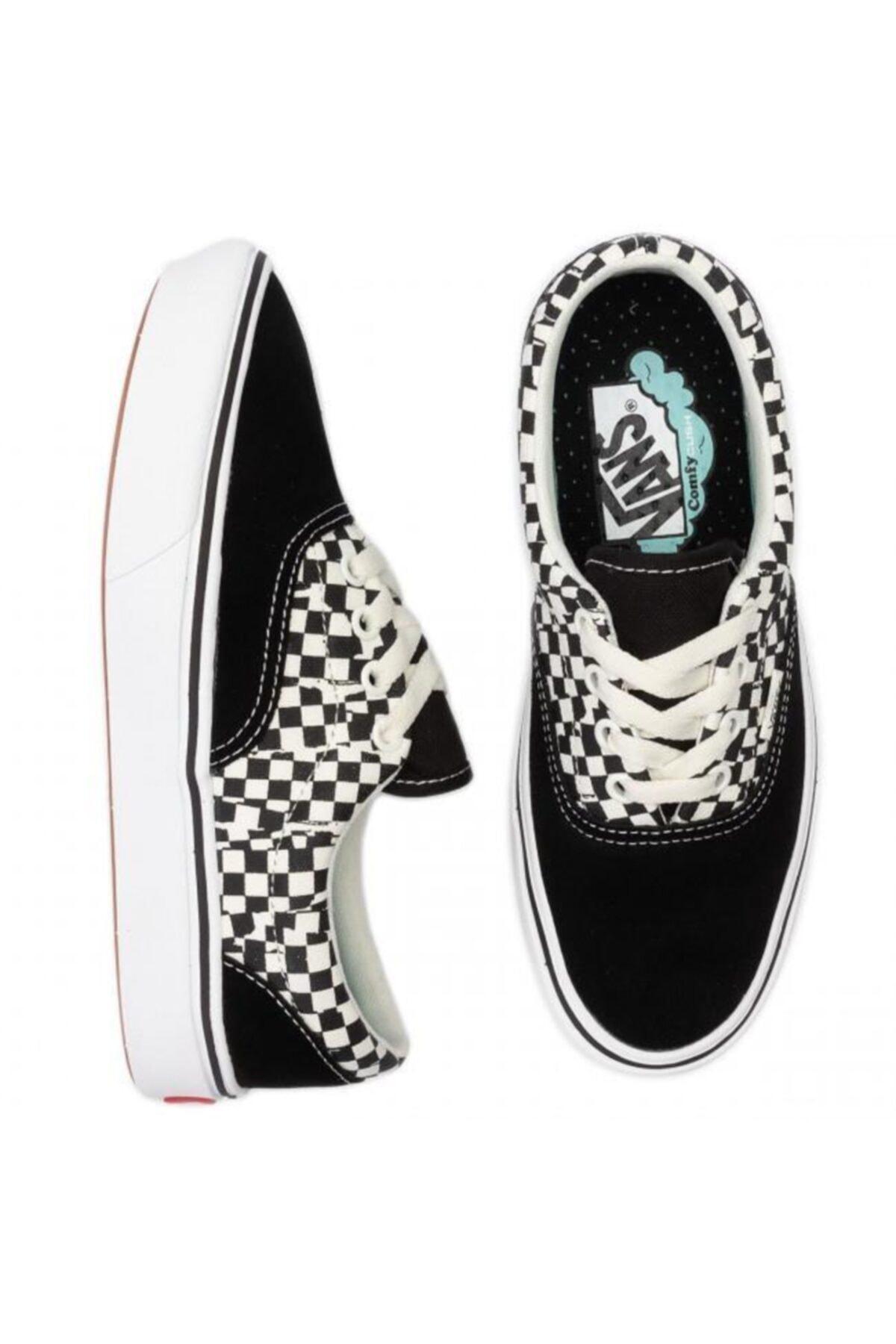 Vans Unisex Siyah Bağcıklı Casual Ayakkabı 2