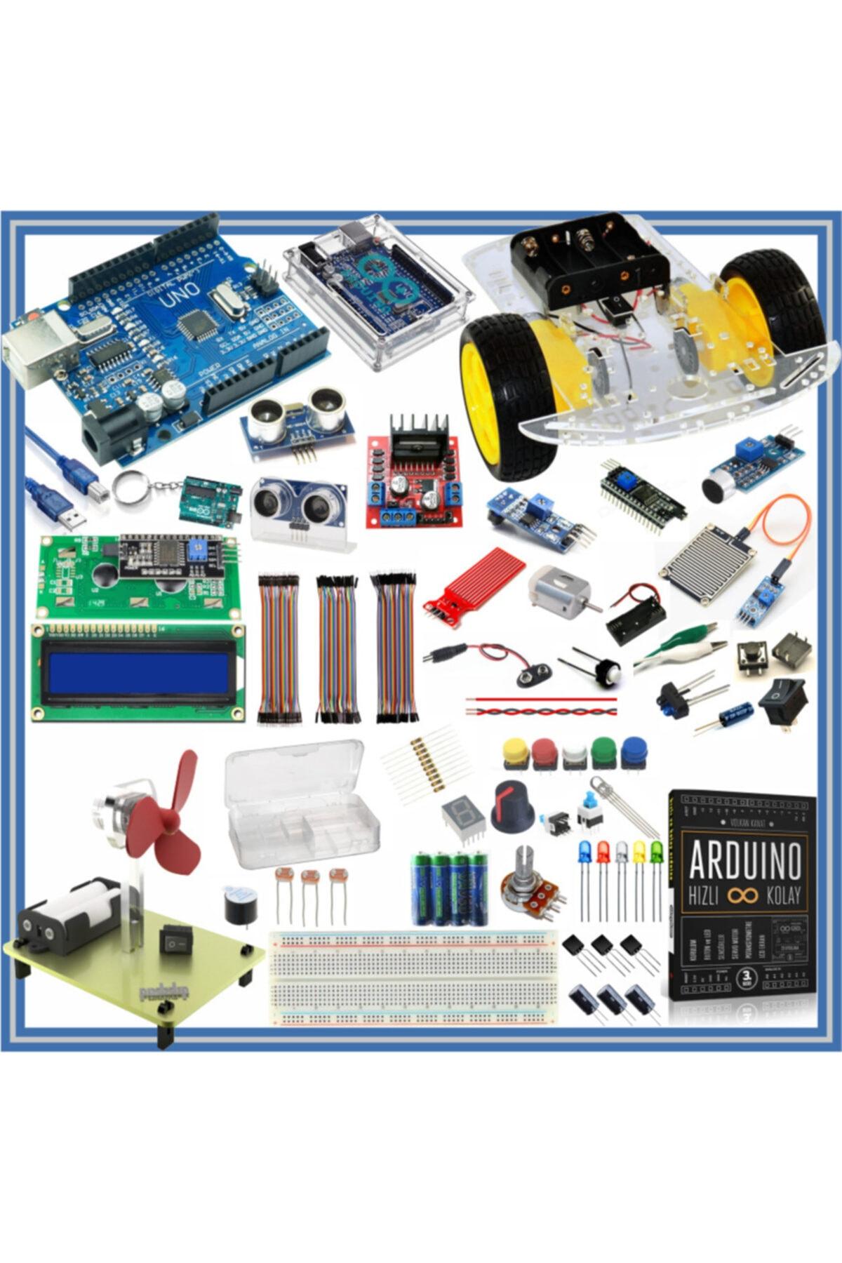 Arduino Başlangıç Seti Uno R3 105 Parça 327 Adet 1
