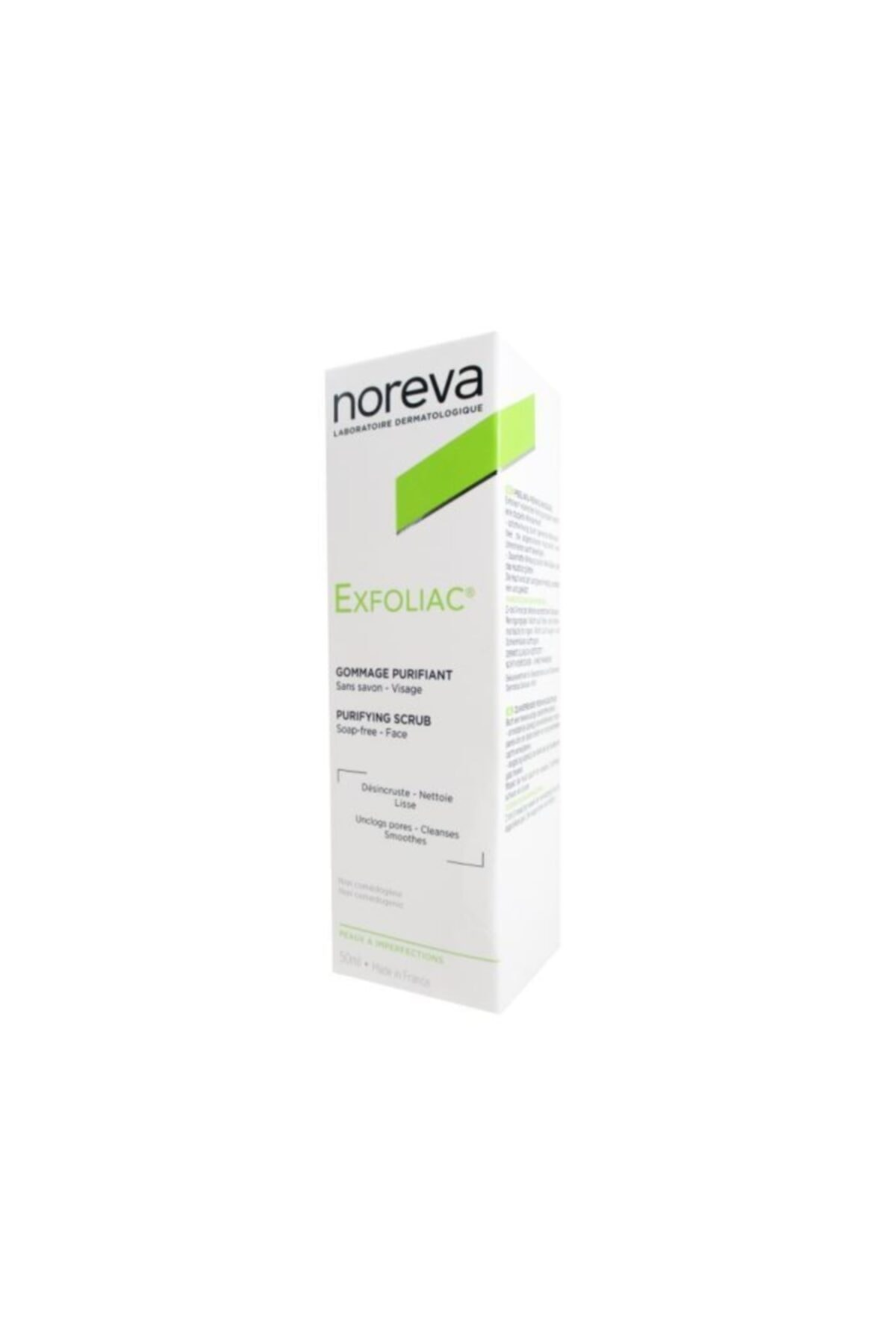 Noreva Exfoliac Facial Scrub 50ml 2