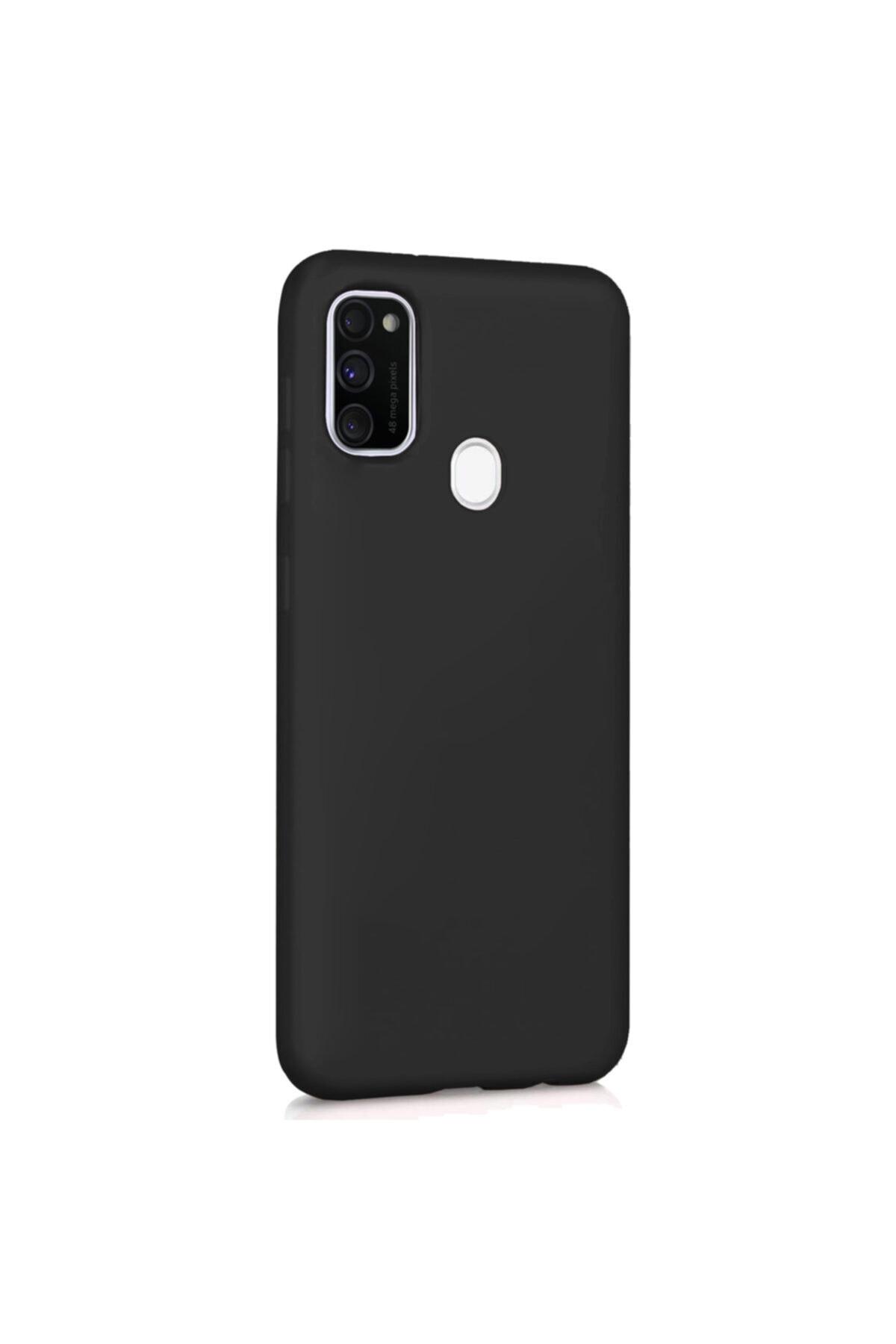 Zengin Çarşım Samsung Galaxy M21 - M30s Yumuşak Silikon Kılıf Siyah 2