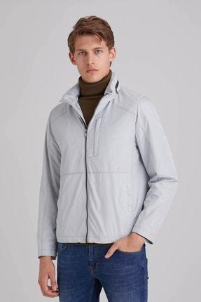 Dufy A.gri Düz Erkek Dış Giyim