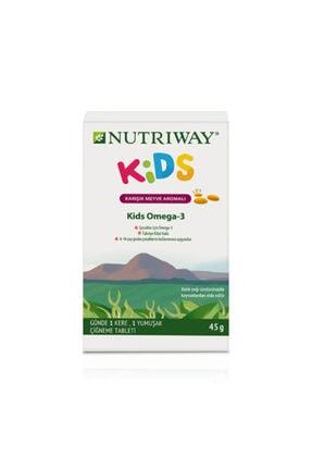 Amway Kids Omega -3 Nutrıway Çocuklar Için (30 Tablet)