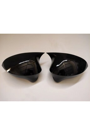 REPLAX Seat Leon 2008-2013 Arası Yarasa Ayna Kapağı Batman Piano Black Pls79