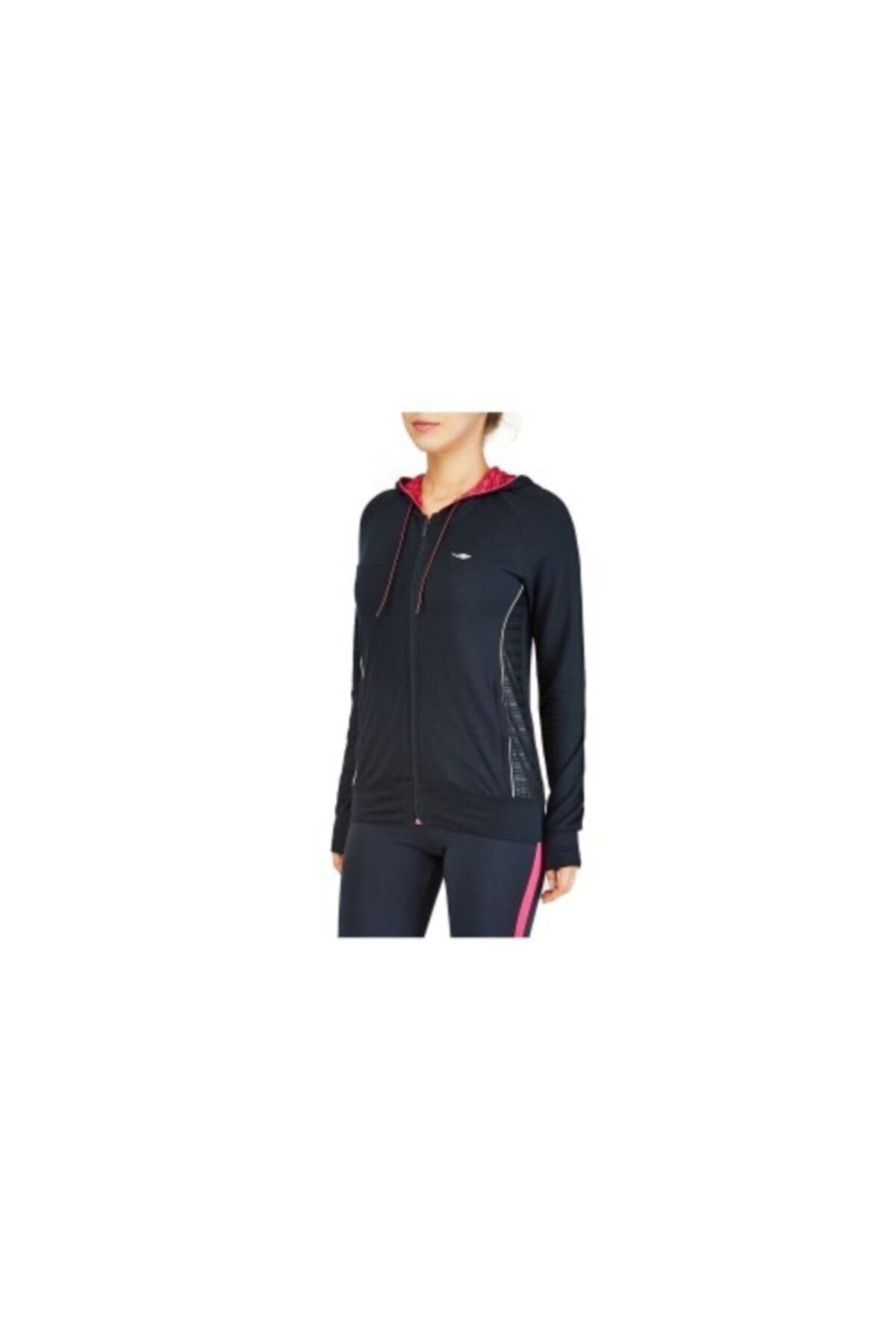 Lescon Kadın Siyah  Sweatshirt 16b-2085 1