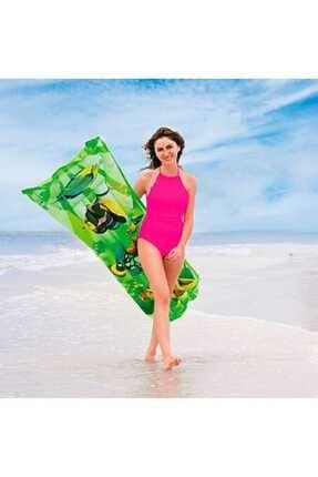 BESTWAY Şişme Deniz Yatağı 44035 Yeşil
