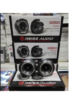 Reiss Rs Ta27 Çifti 400w Watt Titanium Spl Dome Tweeter