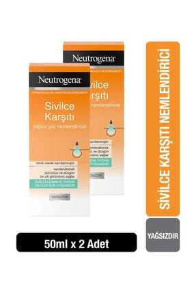 Neutrogena Visibly Clear Nemlendirici 50 ml x2