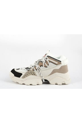 Kenzo Kadın Bej Sneakers