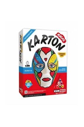 Redka Akıl Oyunları Karton Maske Boyama Seti