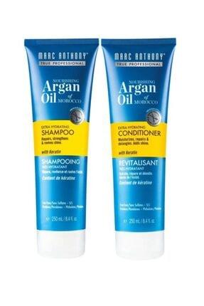 MARC ANTHONY Argan Oil Şampuan 250 Ml + Saç Kremi 250 Ml