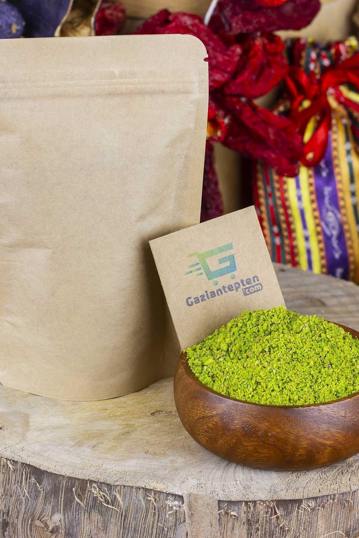 Gaziantepten Antep Fıstığı Boz Yeşil Iç Toz 250 Gr 1