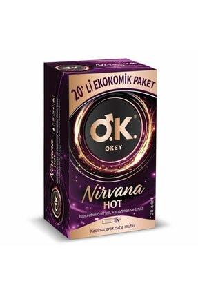 Okey Nirvana Hot Ekonomik 20'li Prezervatif