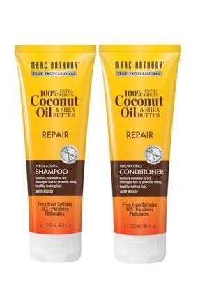 MARC ANTHONY Coconut Oil Repair Şampuan 250 Ml + Saç Kremi 250 Ml