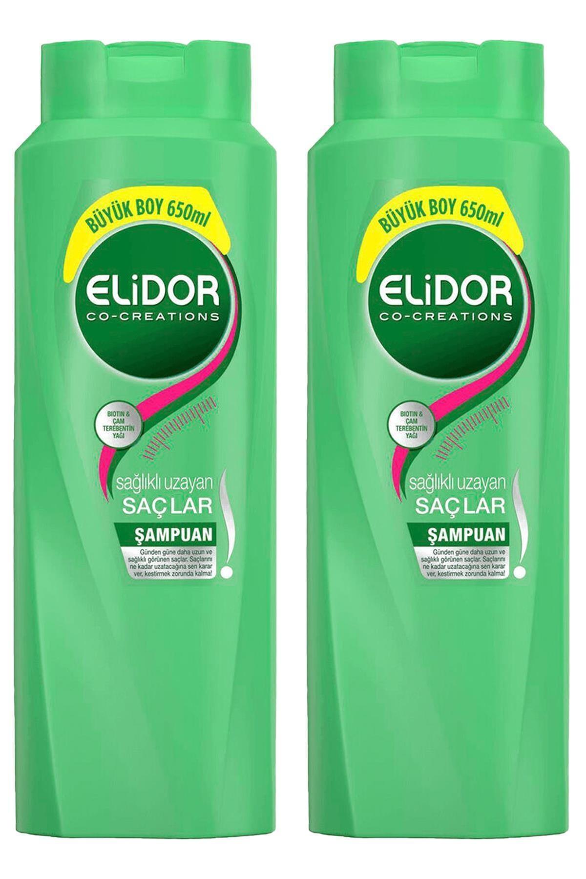 Elidor Elıdor Şampuan Sağlıklı Uzayan Saçlar 650 Ml ( 2 Adet ) 1