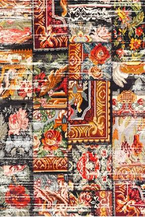 Saray Halı Saray Rengin Rn003k00 80x300 Kırmızı  Halı