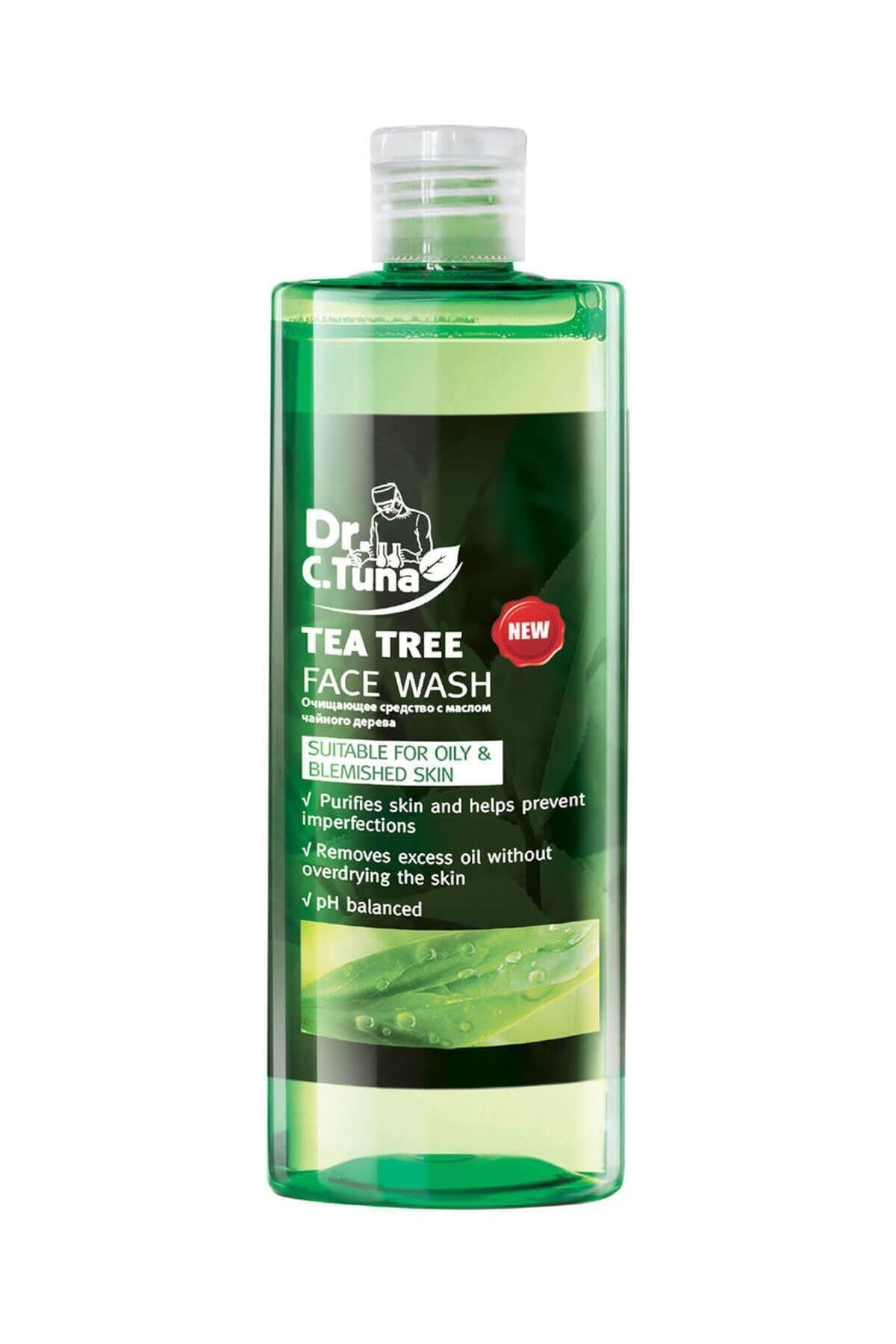 Farmasi Dr. C. Tuna Çay Ağacı Yağı Yüz Yıkama Jeli 225 Ml 8690131102739 1