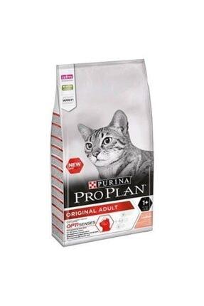 Proplan Pro Plan Original Somon Balıklı Yetişkin Kedi Maması 10 Kg