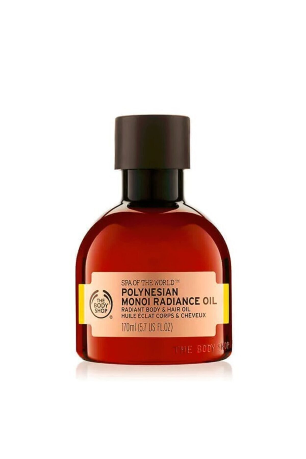 THE BODY SHOP Spa Of The World Polynesian Monoi Saç Ve Vücut Yağı 170ml 1