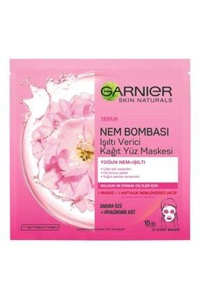 Garnier Nem Bombası Kağıt Maske Sakura