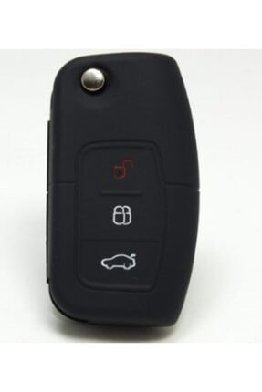 Space Ford Fiesta Kumanda Kabı Koruyucu Silikon Kılıf 3 Tuş