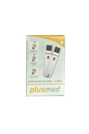 PlusMed Fasttest Strip 50 Adet