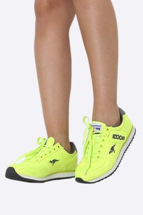 Kangaroos Kadın Sarı Spor Ayakkabı