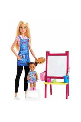 Barbie Ben Büyüyünce Resim Öğretmeni Dhb63-gjm29