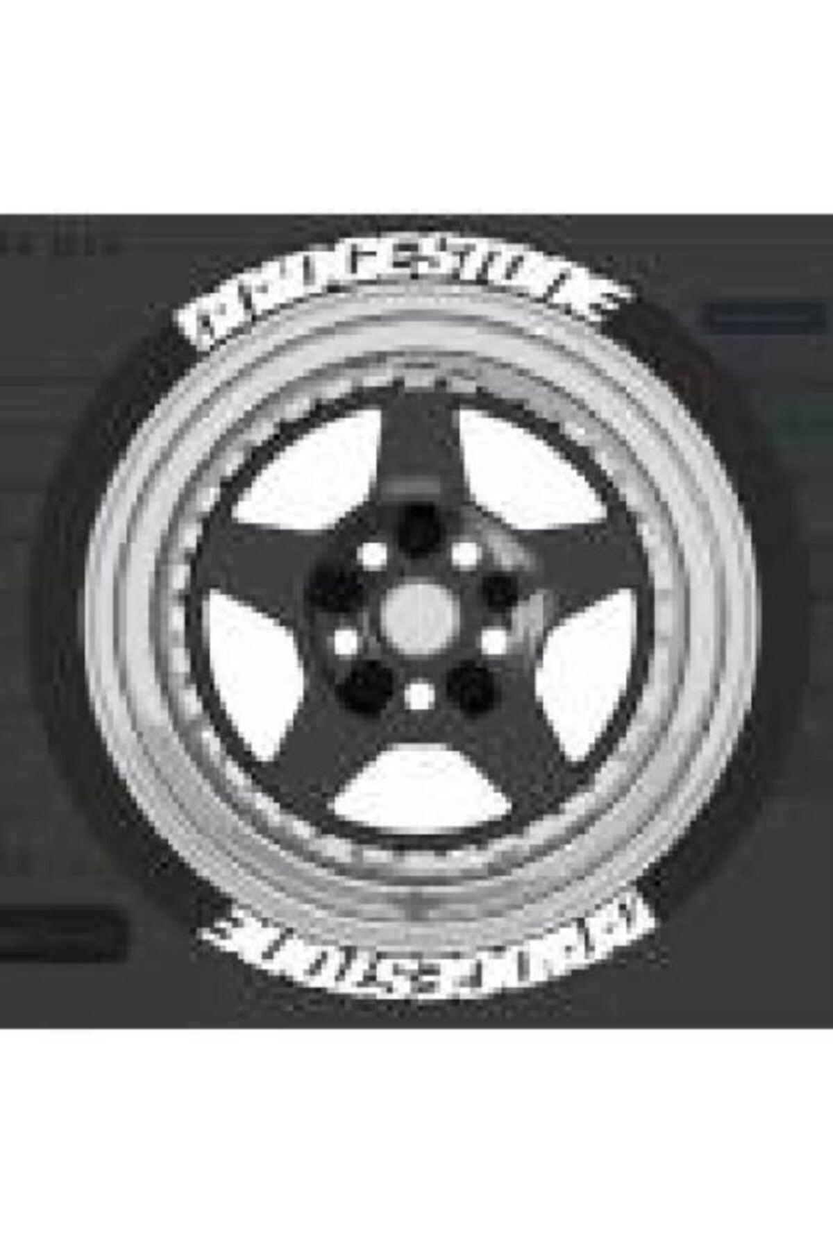 Bridgestone Lastik Yazısı 4x Brıdgestone Orijinal 1.sınıf Kalite Solmaz Araç Motorsiklet Yazı Stiker Seti 2