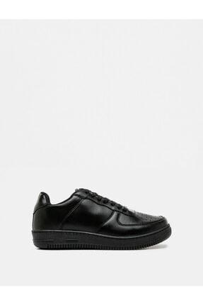 Koton Erkek Siyah Sneaker TYC00046137226