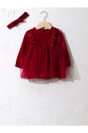 LC Waikiki Kız Bebek Kırmızı Elbise