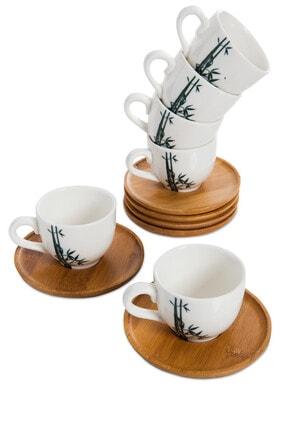Bambum Lordi 6 Kişilik Kahve Fincanı Takımı B0015