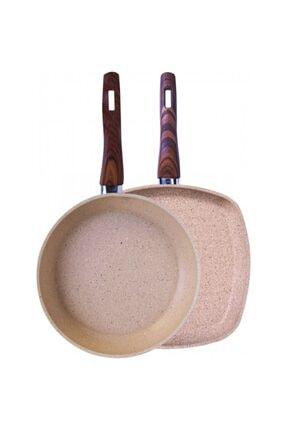 Karaca Forest Bio Granit Grill Tava Set