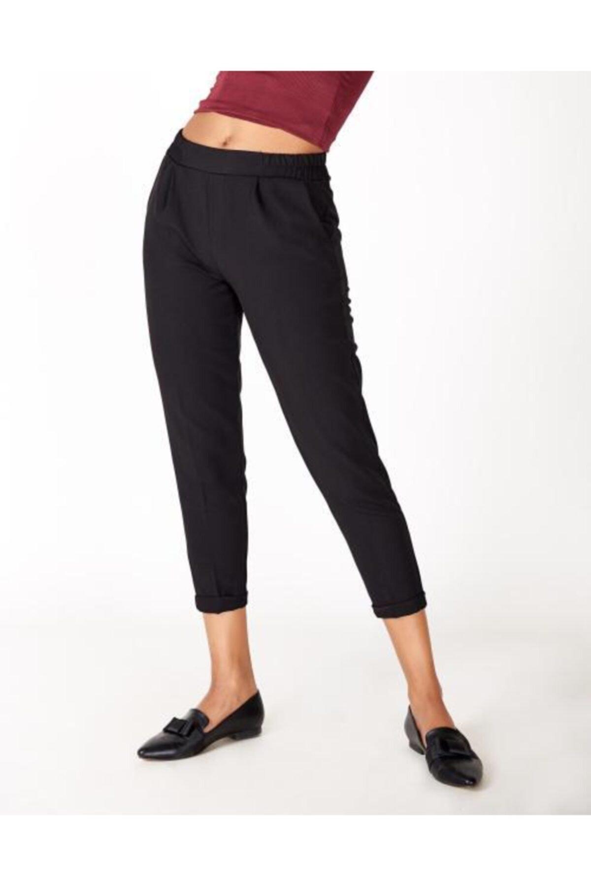 Vision Kadın Siyah Belmando Pantolon 2