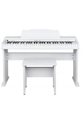 KOZMOS Kkp-161wh Dijital Çocuk Piyanosu / Tabure+kulaklık