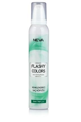 Flashy Colors Geçici Köpük Saç Boyası - Yeşil