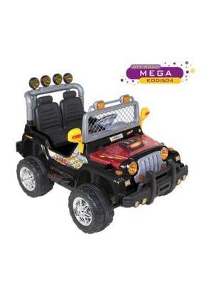 Aliş Toys Aliş 504 4 X 4 Mega Jeep 12 Volt Turbo 2 Kişilik Akülü Araba