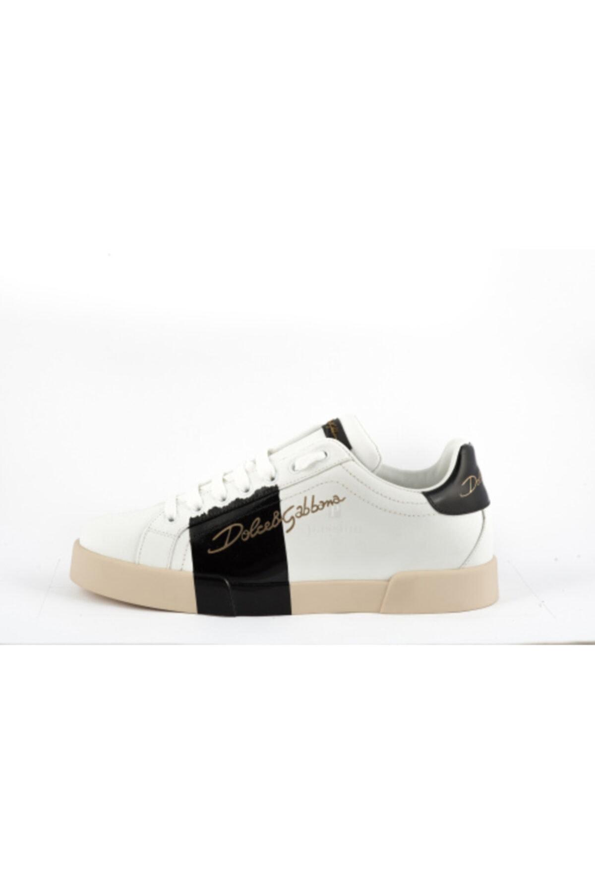 Dolce Gabbana Erkek Beyaz Sneakers 1