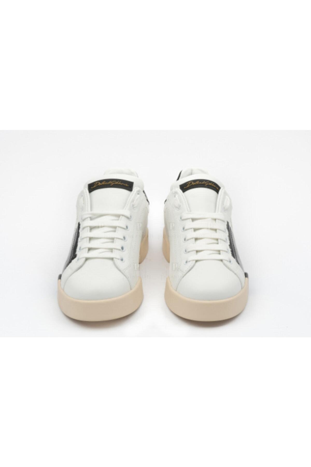Dolce Gabbana Erkek Beyaz Sneakers 2
