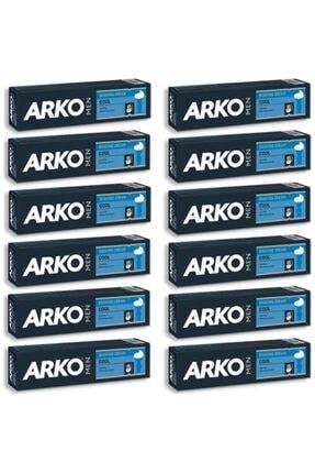 ARKO Men Cool Tıraş Kremi 12'li Paket 100 Gr