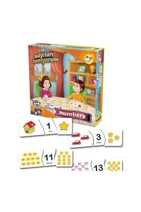 Kırkpabuç Puzzle Kırkpabuç Sayıları Tanıyorum Eğitici Kutu Oyunu