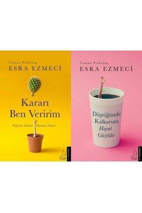 Destek Yayınları Kararı Ben Veririm / Düştüğünde Kalkarsan Hayat Güzeldir 2 Kitap Set