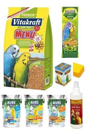 Vitakraft Menü Muhabbet Kuşu Yem Ve Bakım Seti 1 Kg