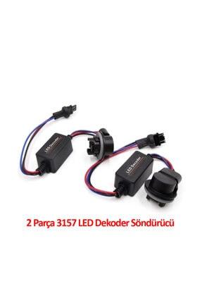 Techmaster 3157 Soket Canbus Arıza Işığı Dekoder Söndürücü 2 Adet