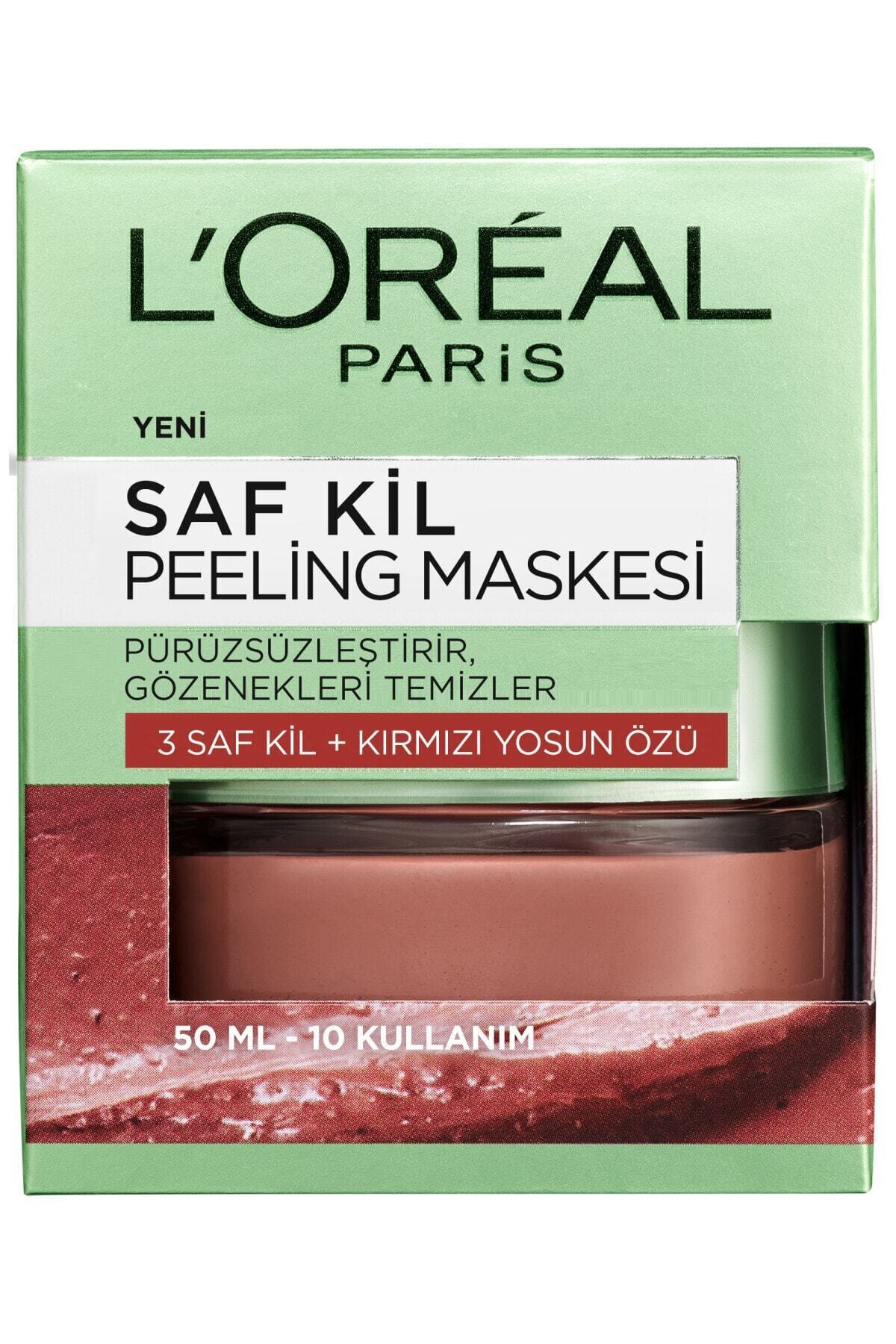 L'Oreal Paris Saf Kil Peeling Maskesi - Pure Clay 50 Ml 3600523306367 2