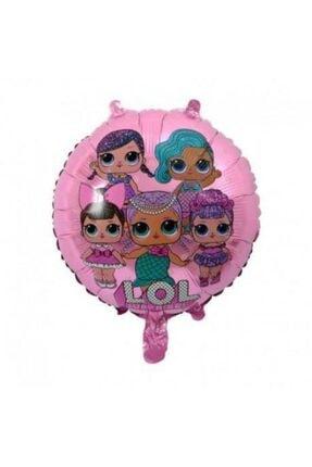 Parti Furyası Lol Bebek Folyo Balon Pembe 45cm